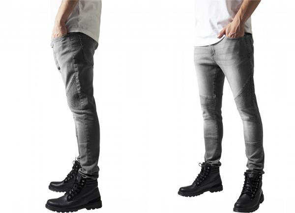 Slim Fit Biker Jeans fuer Herren