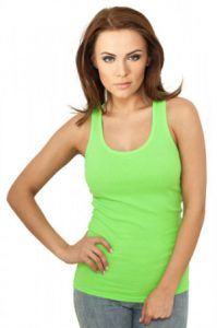 Ladies Neon Tanktop
