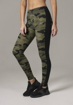 Leggings Camouflage-Muster