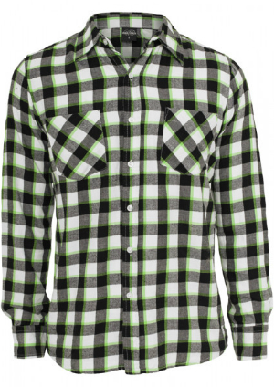 Tricolor Checked Light Flanell Shirt