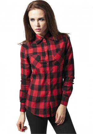 Urban Classics Ladies Checked Flanell Shirt