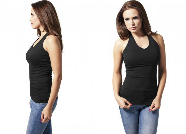 Urban Classics Ladies Neckholder Shirt