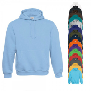 BC Hooded Sweat Hellblau