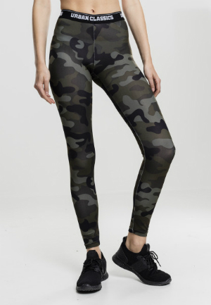 Camo Logo Leggings