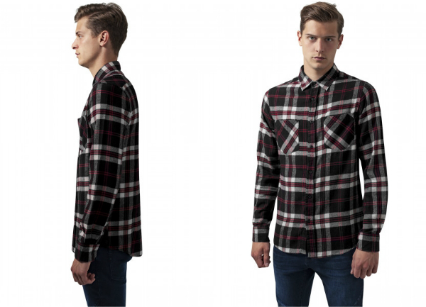Checked Flanell Shirt 3 von Urban Classics
