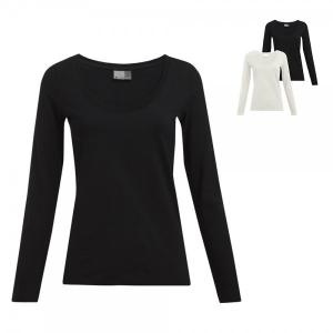Promodoro Damen Slim Fit-T Langarmshirt