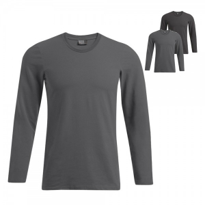 Promodoro Herren Slim Fit-T Langarmshirt