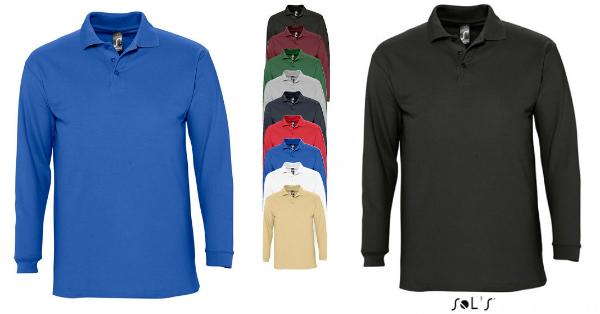 SOLS Langarm Poloshirt Winter II
