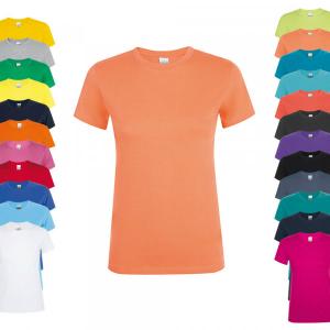 SOLS Regent Women T-Shirt Apricot