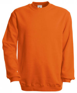 B and C Set In Sweat Pullover Orange