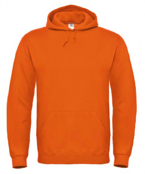 B and C Sweat Hoodie Orange