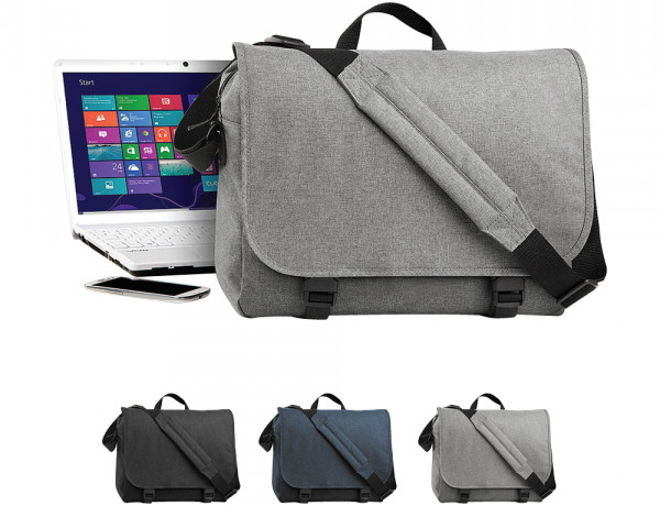 BagBase Two-Tone Digital Messenger Tasche