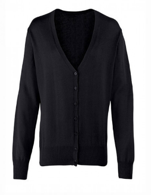 Cardigan Button Through Knitted fuer Damen