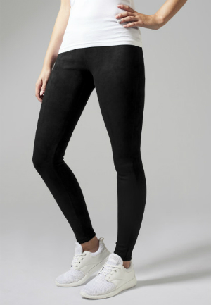 Damen Imitation Suede Leggings von Urban Classics
