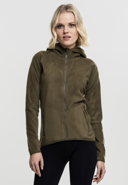Damen Polar Fleecejacke mit Reissverschluss Fleece
