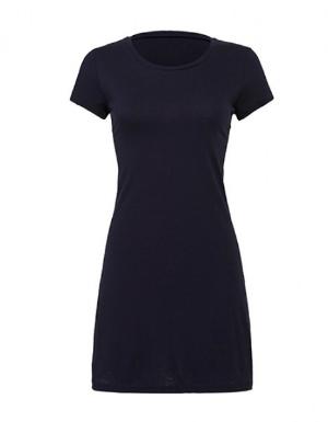 Damen Vintage Jersey T-Shirt Kleid