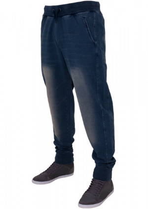 Denim Sweatpant von Urban Classics