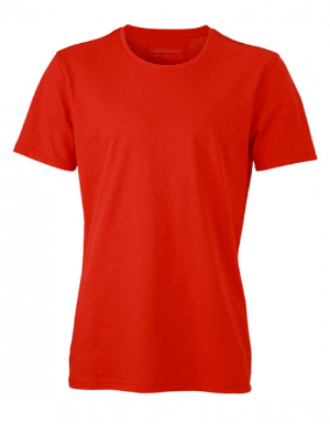 James+Nicholson Herren Urban T-Shirt Tomato