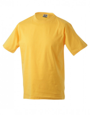 James+Nicholson Rundhals T-Shirt Heavy Gold Yellow