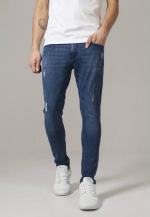 Jeans Hose Skinny Ripped Stretch