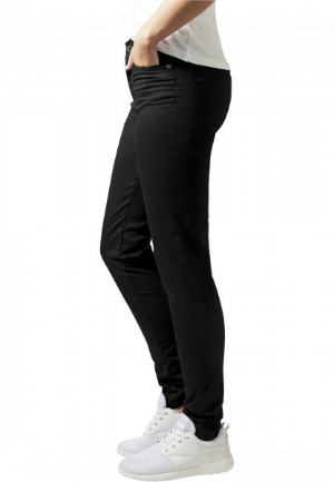 Ladies Skinny Pants Schwarz