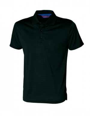 Poloshirt Cooltouch Textured Stripe