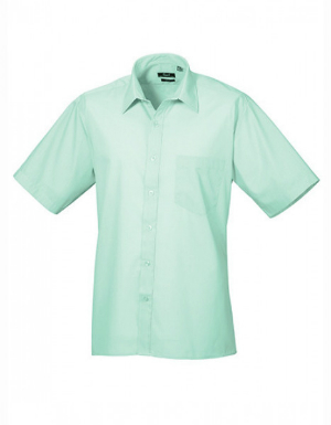 Premier Workwear Poplin Short Sleeve Shirt Herrenhemd Kurzarm