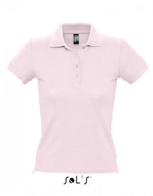 SOLS Ladies Polo People 210 Pale Pink