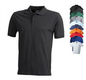 Workwear Polo T-Shirt fuer Herren von James+Nicholson
