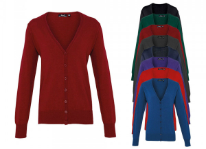 Premier Workwear Ladies Button Through Knitted Cardigan