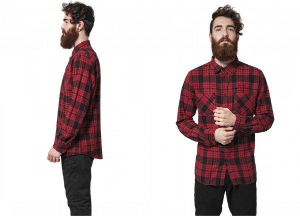 Urban Classics Checked Flanell Shirt 2