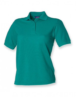 Henbury Ladies 65-35 Classic Pique Polo Shirt