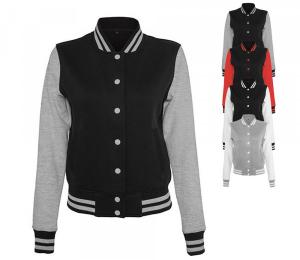 Build Your Brand Ladies Sweat College Jacke