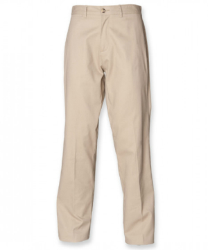 Henbury Mens Chino Trousers mit Teflon