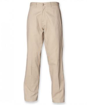 Henbury Mens Chino Trousers mit Teflon
