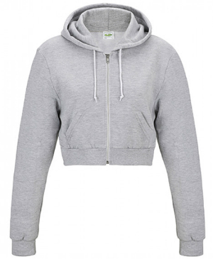Just Hoods Girlie Cropped Zoodie