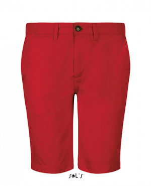 Poppy Red Jasper Mens Bermuda Short von SOLS