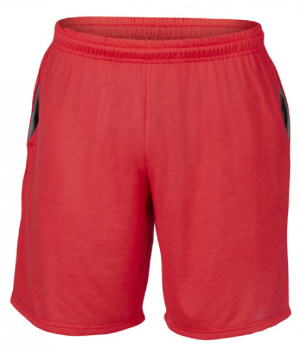 Red Performance Short von Gildan