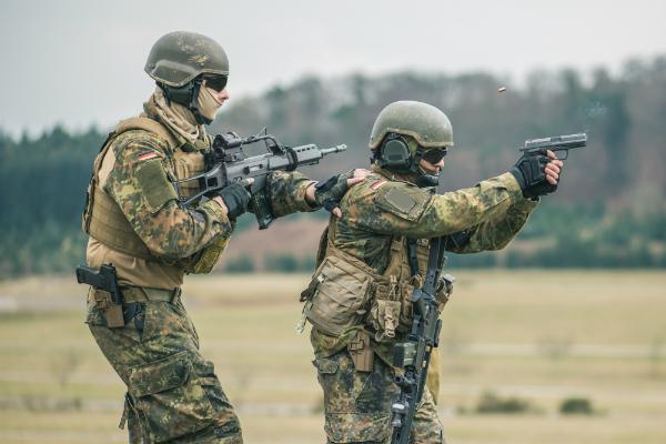 Bundeswehr Schiessuebung