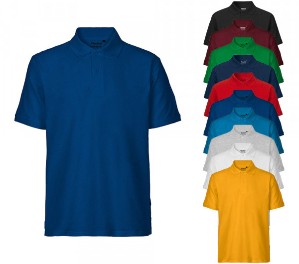Neutral Mens Classic Poloshirt