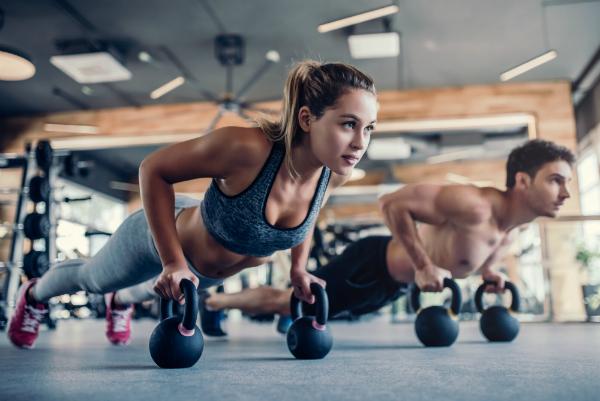 Stylische und funktionelle Activewear fuers Fitnessstudio