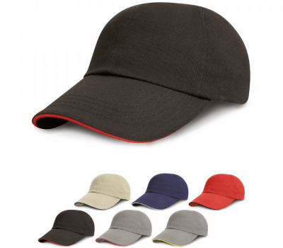 result-headwear-junior-heavy-brushed-cotton-cap