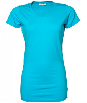 tee-jays-ladies-stretch-tee-extra-long-tuerkis