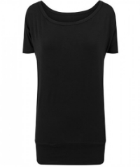 Build Your Brand Ladies Viscose Tee