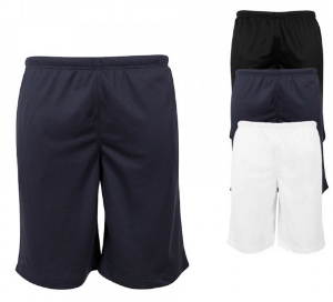 Build Your Brand Mesh Shorts