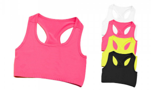 Just Cool Girlie Cool Sports Crop Top