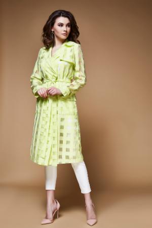 Kleid und Hose schön kombiniert