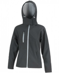 Result Core Ladies Core Lite Hooded Soft Shell Jacket