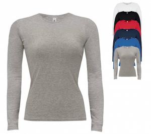 BCTW013 B&C T-Shirt Women-Only Longsleeve
