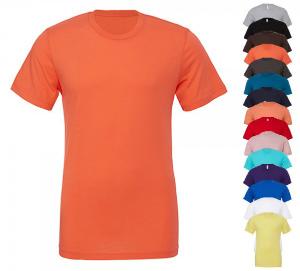 Canvas Unisex Jersey Crew Neck T-Shirt